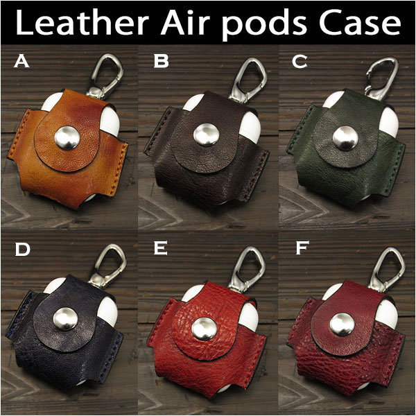 WILD HEARTS: Apple Air Pods Airpods Leather Case Cover