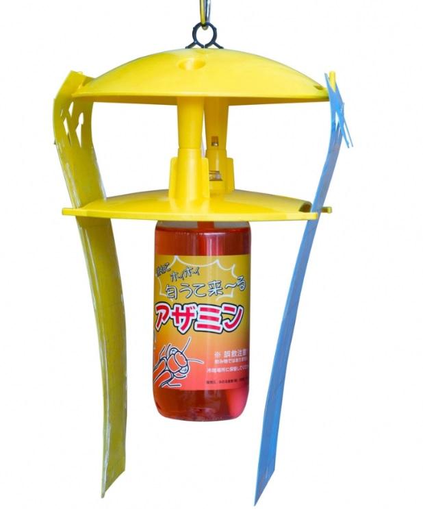 みのる産業 活性式アザミウマ予察捕虫器 アザミウマキャッチャー CAZ-110 ※価格は10セットの金額です