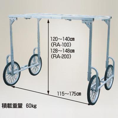 ハラックス 楽太郎 高床部品 RA-100・RA-200共通部品