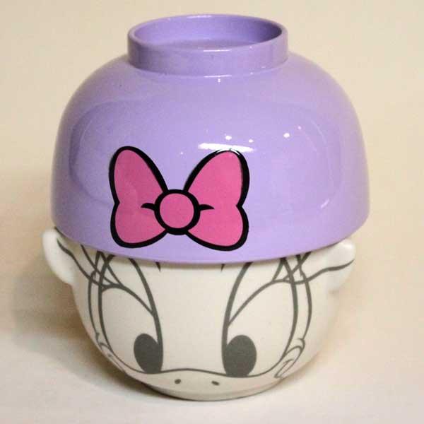 かわいらしい茶碗 汁椀セット ギフトにも最適 ディズニーシリーズ ギフトラッピング デイジーダック 無料 迅速な対応で商品をお届け致します 汁椀茶わんセットミニ 即出荷