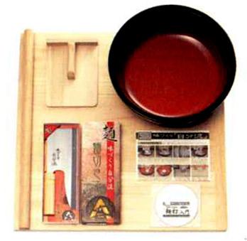 家庭用麺打ちセットA そば・うどん「麺打ち入門」DVD付き 100%奥越前そば粉1k・打ち粉サービス 父の日