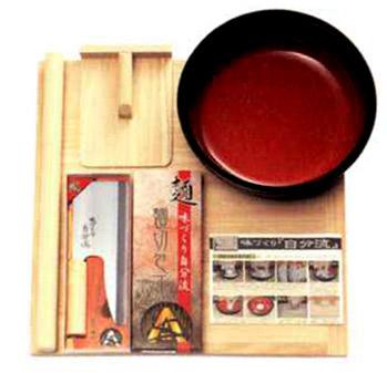 家庭用麺打ちセットB 100%奥越前そば粉1k・打ち粉サービス