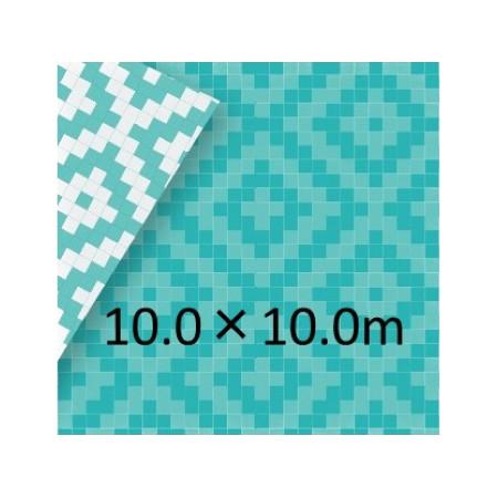 和みシート ブルーシート 10.0×10.0m