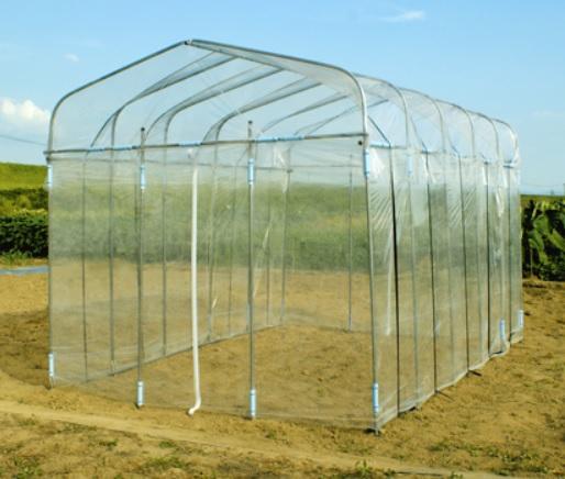 【送料無料】DAIM ダイムハウス 2坪用 日本製   家庭菜園用 組み立て簡単 温室栽培や雨よけに 農用 畑作 ビニールハウス 野菜作り 農業 園芸
