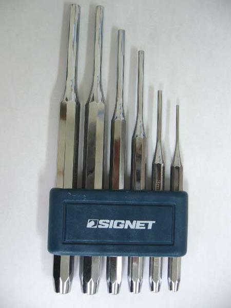 シグネット SIGNET スーパーSALE 通常便なら送料無料 セール期間限定 ピンポンチセット 60501 6本組