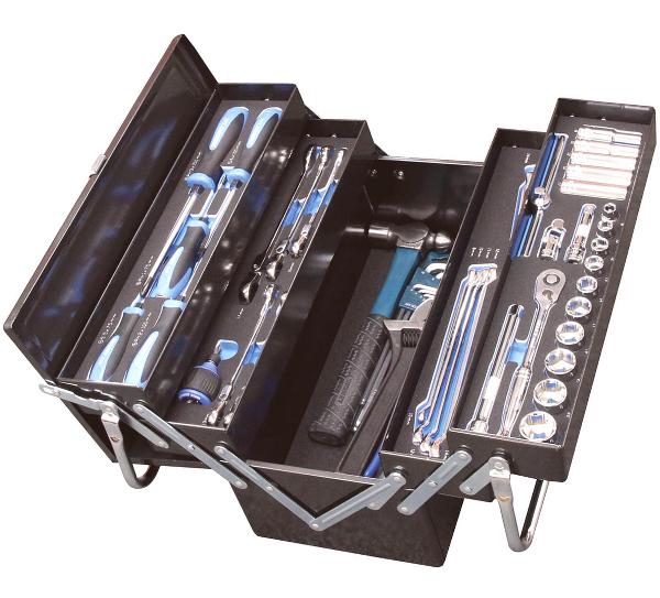 SIGNET シグネット 3/8DR メカニックツールセット 54006 両開きDX工具セット トレイ付 48pcs