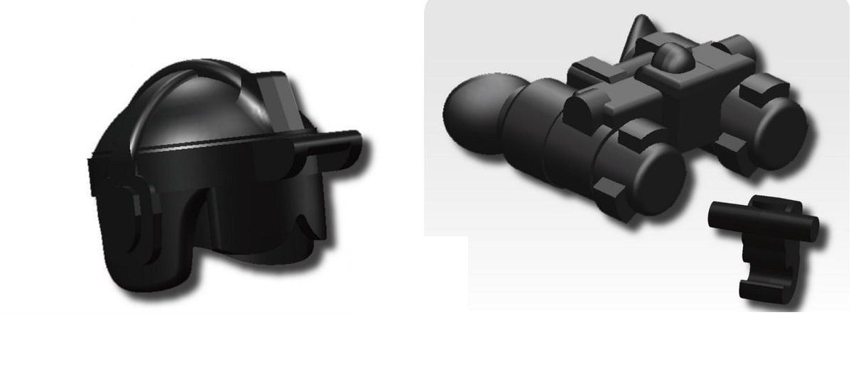 カスタムレゴ カスタムパーツ ●日本正規品● LEGO 海外限定 武器 装備品 USF-S7 ゴーグル ヘルメット ANVIS-9