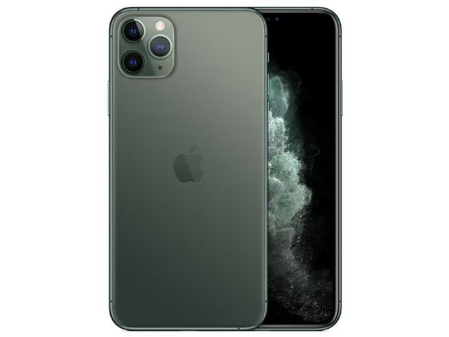 トリプルカメラ搭載の6.5型スマートフォン 新品未開封品 新品■送料無料■ apple アップル SIMフリーiPhone11 Pro Max Midnight 定番キャンバス Green 64GB スマートフォン
