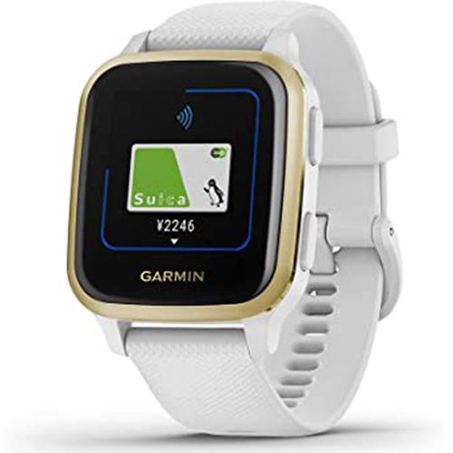 新品 大人気 GARMIN ガーミン 大好評です 010-02427-71 Venu Sq Light Gold White