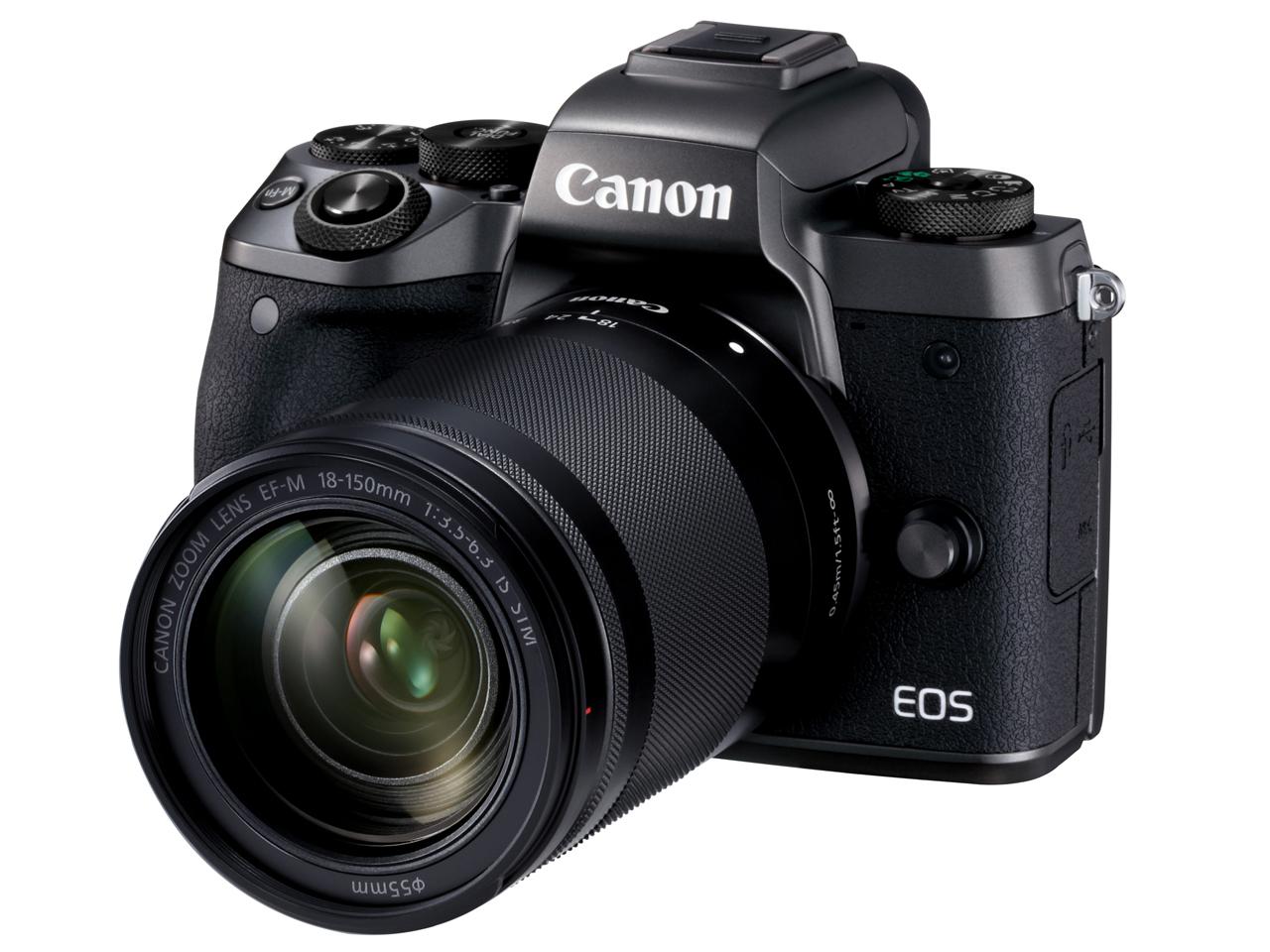 【新品未開封品】Canon EOS M5 EF-M18-150 IS STM レンズキット