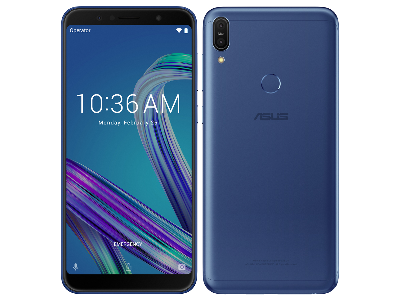 【新品未開封品】ZenFone Max Pro (M1) SIMフリー [スペースブルー]