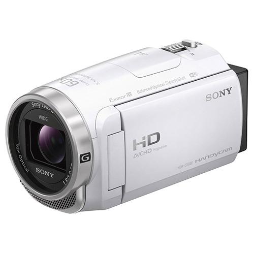 【新品未開封品】SONY ソニー HDR-CX680 (W) [ホワイト] デジタルビデオカメラ ハンディカム