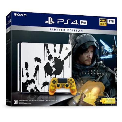 SONY(ソニー) PS4Pro DEATH STRANDING 限定版 CUHJ10033 1TB