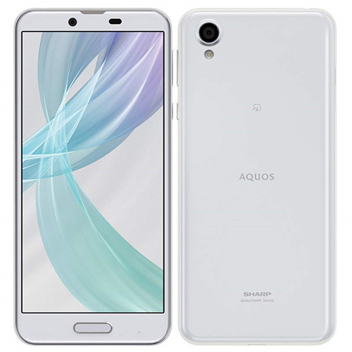 SHARP シャープ AQUOS sense plus SH-M07 (ホワイト)5.5インチ SIMフリースマートフォン[メモリ 3GB/ストレージ 32GB]