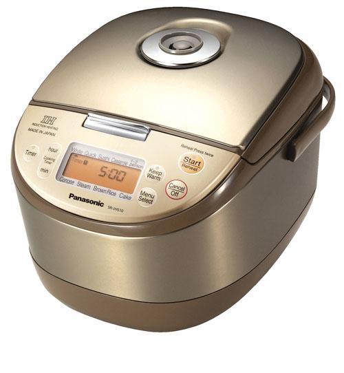 【海外向け】【IH炊飯器】【Panasonic SR-JHS10-N/220V】【ダイヤモンドフッ素加工銅釜】