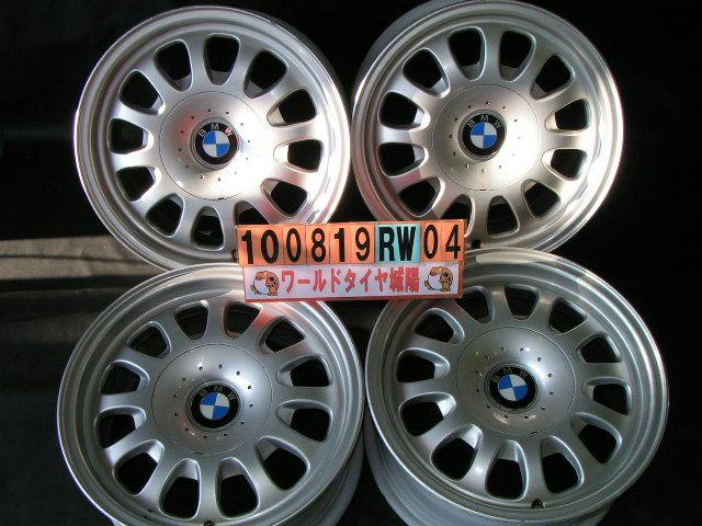 BMW/5シリーズ,3シリーズ 【中古】ホイール 15インチ PCD120 7J 5穴 BMW 純正 アルミホイール 4本