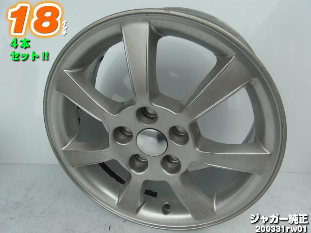 日本未発売 16x6.5J+52.5 107.95 5H 奉呈 Xタイプ ジャガー純正 Sタイプ Xタイプエステート 中古ホイール4本セット