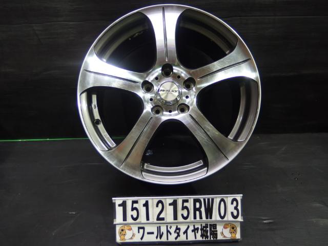 【中古】ホイール 17インチ CX-5 レヴォーグ ステップワゴン RiZLEY アルミホイール 中古4本