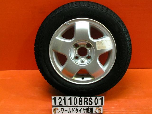 【中古】タイヤ ホイールセット 14インチ 美品未使用 オペル純正 175/65R14 ヴィータ 現品1本【中古サマータイヤ・ホイールセット】