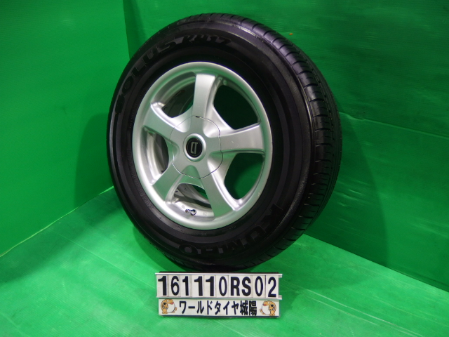 【中古】中古タイヤ ホイールセット 215/65R15 クムホ エスティマルシーダ,エミーナ バサラ 中古 タイヤ 4本セット