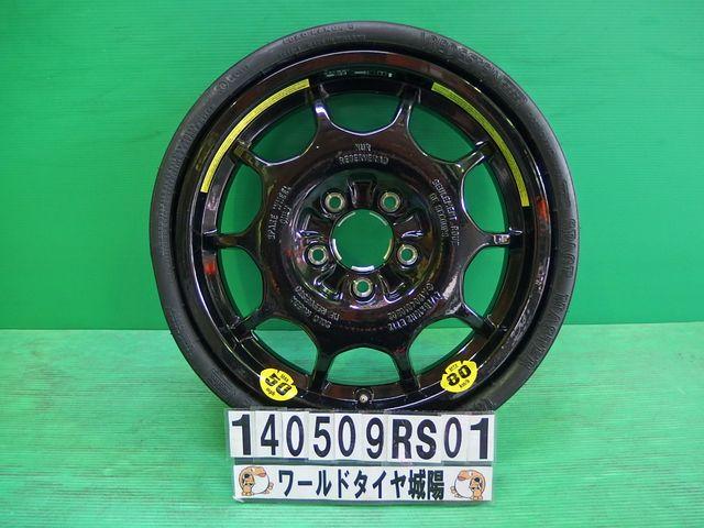 未使用!16インチ ベンツ SLK320 C320 応急用タイヤホイールセット【中古】