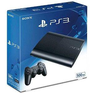 【-+1月8日発送★新品】PS3本体 PlayStation3 チャコール・ブラック 500GB CECH-4300C