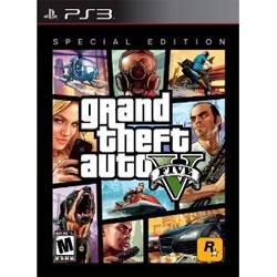 【新品】PS3ソフト輸入版 Grand Theft Auto V Special Edition (輸入版) (限定版)グランド・セフト・オート V スペシャル エディション (CERO区分_Z相当)