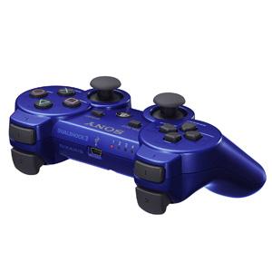【+2月25日発送★新品】PS3周辺機器 ワイヤレスコントローラ (DUALSHOCK3) メタリック・ブルー