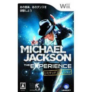 【新品】Wiiソフト マイケル・ジャクソン ザ・エクスペリエンス リミテッドエディション (限定Tシャツ付)