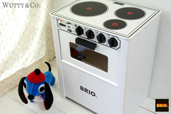 木のおもちゃ BRIO レンジ White おままごと キッチン