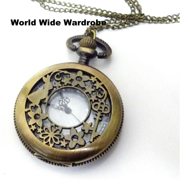 World wide wardrobe watt chang rakuten global market antique antique pendant pocket watch l mozeypictures Gallery