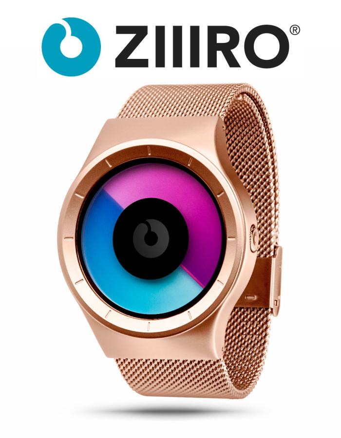【ZIIIRO JAPAN公式】 ZIIIRO ジーロ 時計 セレステ ピンクゴールド ローズ ゴールド【ドイツ デザインウォッチ】CELESTE Rose/Gold 腕時計 Z0005WRM ユニセックス対応 ペア おしゃれ プレゼント