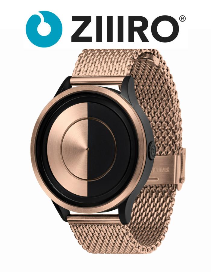 【ZIIIRO JAPAN公式】 ZIIIRO ジーロ 時計 ルナ ローズゴールド ピンク ゴールド【ドイツ デザインウォッチ】Lunar Rose Gold 腕時計 ユニセックス対応 ペア おしゃれ プレゼント
