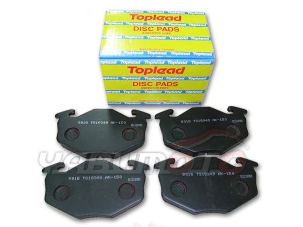 ディスクパット フロント用 低価格化 アルトワークス 超人気 HA11S HB11S H6 11~H10 9 フロント Toplead トップリード 前 TL9016 ブレーキパッド 型式OK