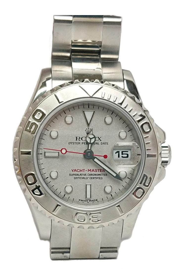 【送料無料】ロレックス ROLEX ヨットマスター ロレジウム レディース 腕時計 Pt/ss P番 169622【質屋出店】【中古】