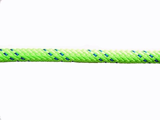 KM3スタティックロープ10.5mm×100メートル グリーン