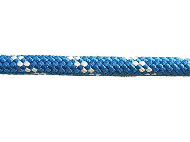 KM3スタティックロープ10.5mm×100メートル ブルー