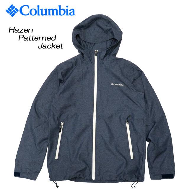 [Columbia] コロンビア ナイロンジャケット[S~XL]Hazen Patterned Jacket/PM3377/デニム調/ヘイゼンジャケット/マウンテンジャケット/ウインドジャケット/タウンユース/アウトドア/登山/マンパ