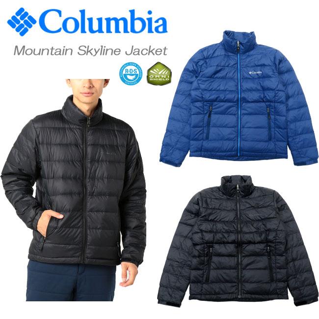 【送料無料】【SALE】[Columbia]コロンビア [メンズ] ダウンジャケット[S~XXL]PM5688/Mountain Skyline Jacket/インターチェンジ対応/ライトダウン/パッカブル/アウトドア/登山/冬防寒/スキーボードライナー/スノー/ユースタウン/軽量ダウン/送料無料