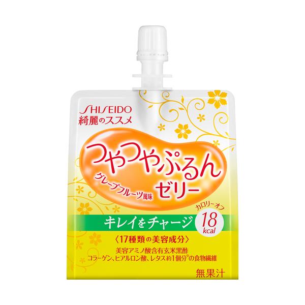 资生堂的工作人员建议的好闪亮璞果冻 (柚子) 150 克食品 ! 本产品添加少于 6 点后的订单和运输成本 630 日元