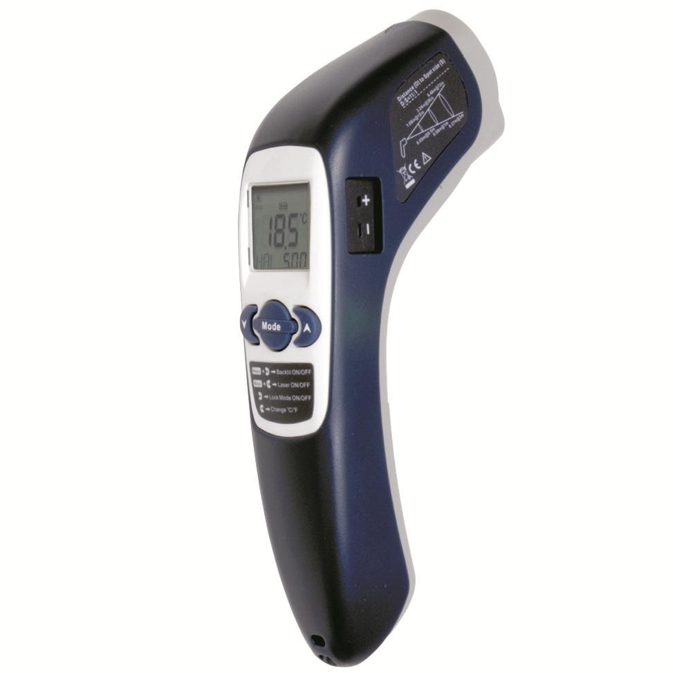 カスタム 放射温度計 IR-302【CUSTOM】【料理用温度計】【調理用温度計】【業務用厨房機器厨房用品専門店】