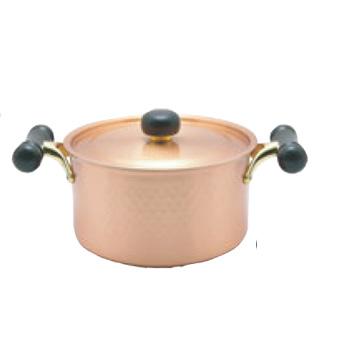 銅IHアンティック 両手鍋 IH-102 20cm【両手鍋】【銅鍋】【電磁調理器対応】【IH対応】【業務用鍋】【業務用】