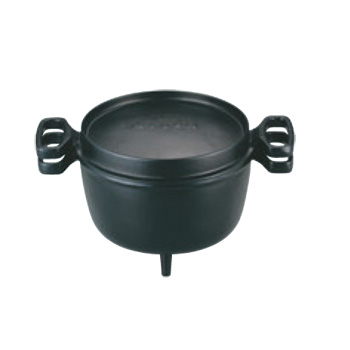 EBM-19-0101-05-001 セール特価 盛栄堂 ダッチオーブン 26cm F-358 オーブン対応 ダッチオーブン 天火両手 キッチン用品 人気 おすすめ 鉄鋳物