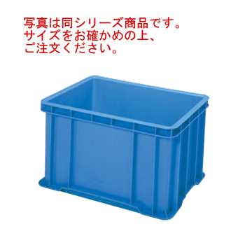 セキスイ ボックスコンテナー S-100 ブルー PP製【代引き不可】【コンテナー】【プラスチックコンテナー】【物流保管用品】【流通】【倉庫作業】【業務用】