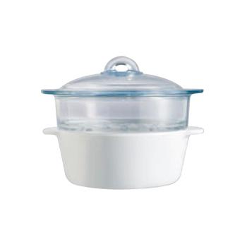 パイロフラム ココット・スチーマー P25U000/5042【オーブンウェア】【ベーキングウェア】【ベイキングウェア】【耐熱容器】【厨房用品】【キッチン用品】