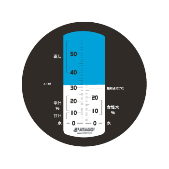 濃度計 MASTER-めんつゆα自動補正・防水 手持ち屈折計【デジタル測定機器】【糖度計】【アタゴ】【ATAGO】【業務用】【厨房用品】