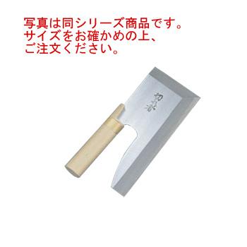 ステンレス鋼 麺切庖丁 切れ者 A-1028 24cm【包丁】【和包丁】【麺切包丁】