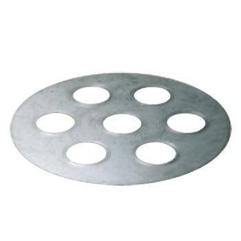 セイロ用台皿 7穴 φ580【せいろ】【蒸篭】【蒸籠】