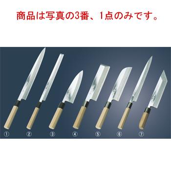 兼松作 鏡面仕上 出刃庖丁 21cm【代引き不可】【包丁】【キッチンナイフ】【和包丁】