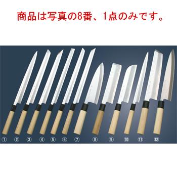 堺實光 上作(白鋼ニ号)薄刃包丁 19.5cm 17513【包丁】【キッチンナイフ】【和包丁】